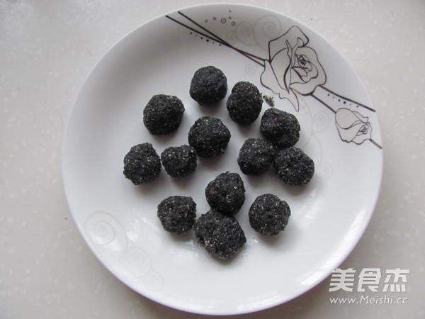 自制黑芝麻汤圆的做法【步骤图】_菜谱_美食杰