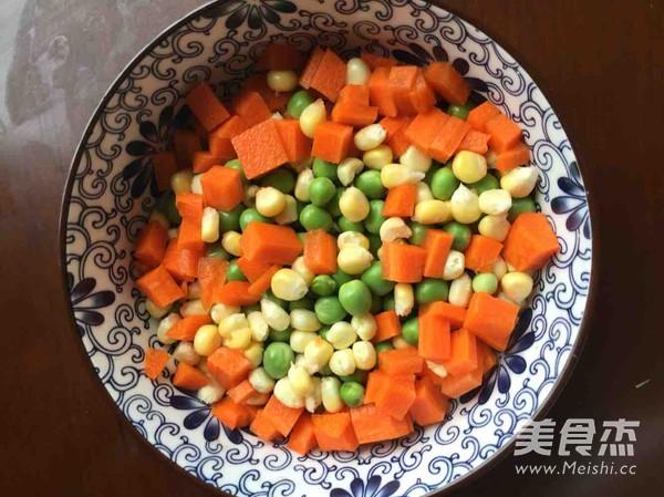 豌豆炒饭的做法【步骤图】_菜谱_美食杰