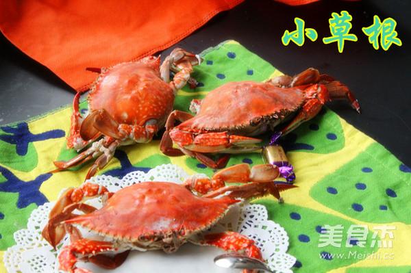 黄酒蒸螃蟹的做法【步骤图】_菜谱_美食杰