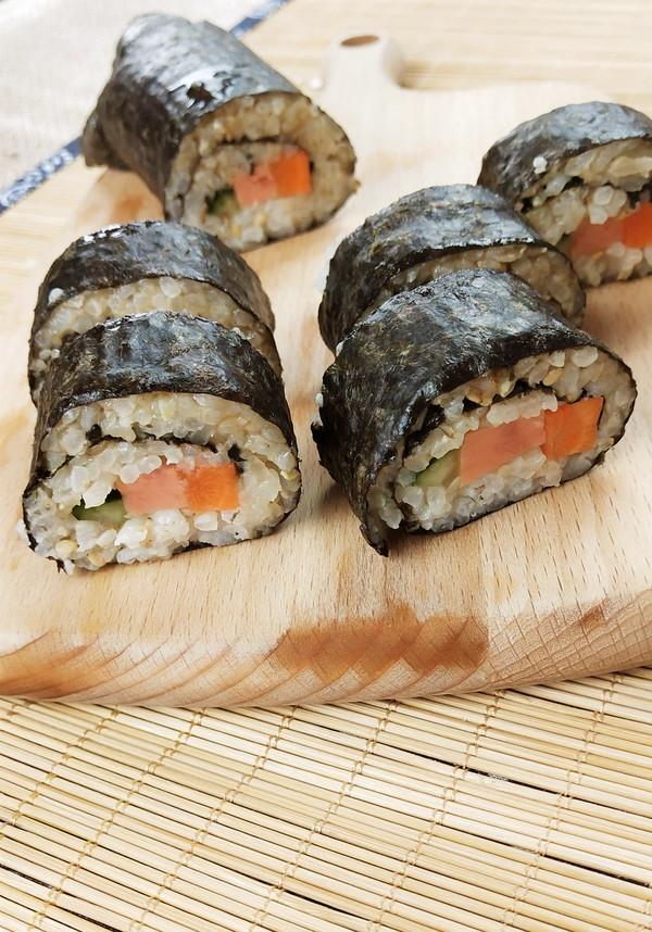 尝尝秋天的大战,老鼠美食来卷起!苦荞美味寿司wpe封包v大战图片