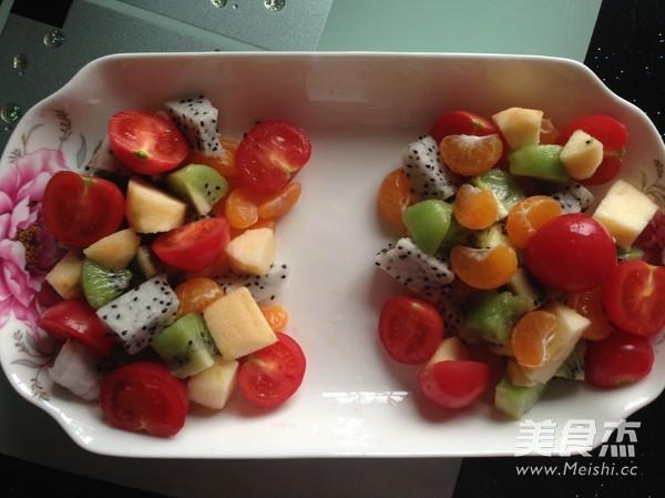 水果沙拉的做法图片
