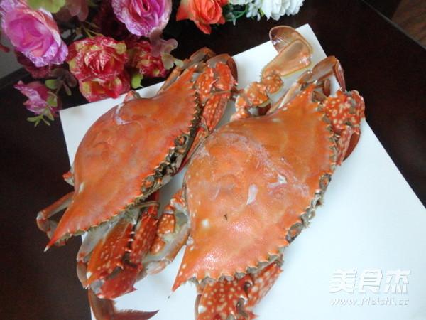 蒸螃蟹的做法【步骤图】_菜谱_美食杰