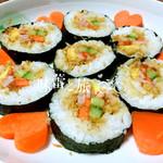 善良的好宝贝肉松寿司的做法