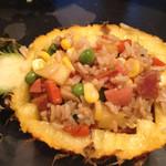 琴6510菠萝鸡饭的做法