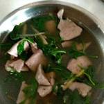 餮徒枸杞菜猪肝汤的做法