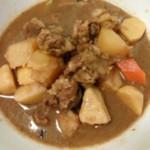 ♬~\(≧▽≦)/~♥囍(来自腾讯.)牛腩煲芋头的做法
