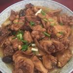 饭后甜品香菇蒸滑鸡的做法