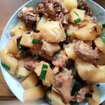 兰之食土豆焖鸭的做法