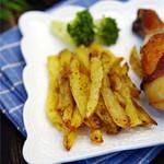 18LS28xgl零落周末小乐趣——烤薯条的做法