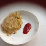 欣可爱无油土豆丝饼的做法