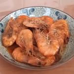 杰米田园茄汁大虾的做法