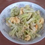 杰米田园干锅花菜的做法