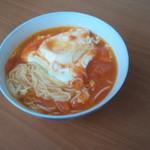 杰米田园西红柿鸡蛋疙瘩汤#早餐#的做法