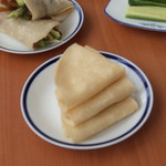 杰米田园春饼(饺子皮版)宝宝辅食食谱的做法