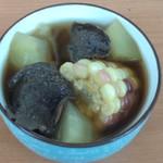 杰米田园花菇炖鸡汤的做法