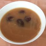 杰米田园糯米圈圈红豆汤的做法