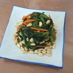 杰米田园菠菜拌粉条#午餐#的做法