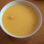 杰米田园玉米蛋花粥#早餐#的做法