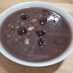 杰米田园黑香米粥的做法