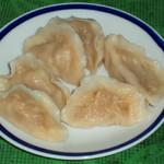 杰米田园马兰头猪肉南瓜饺的做法