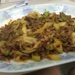 gulu大葱炒羊肉片的做法