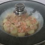 鬼爪子日本豆腐蒸虾仁的做法