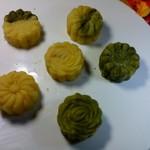 六星绿豆糕的做法