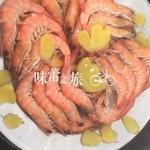 chen8022白灼鲜虾的做法
