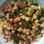 向暖而栖 尖椒玉米粒的做法
