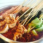 海蓝雨钵钵鸡的做法