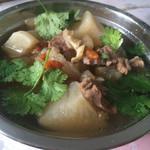 漂泊客(来自腾讯.)白萝卜炖牛筋的做法