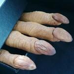 寻找桃花岛万圣节手指饼干的做法