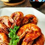 寻找桃花岛茄汁大虾的做法