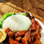 寻找桃花岛台湾卤肉饭的做法
