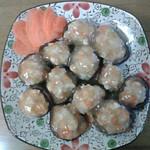 惠子口蘑酿肉的做法
