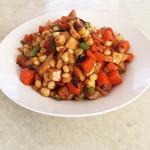 被子宝宝杏鲍菇炒甜玉米的做法