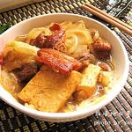悠哈厨房脂渣炖白菜豆腐的做法