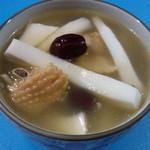 妮妮128椰子炖鸡汤的做法