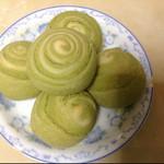 岚岭红枣燕麦馅绿茶酥的做法
