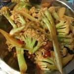 Huang❤️干煸有机花菜的做法