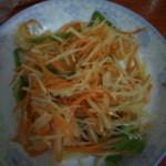 A.小小红萝卜炒土豆的做法