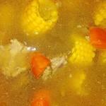 爱心的每一道菜玉米胡萝卜排骨汤的做法