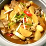 林冰儿羊肉炖萝卜的做法