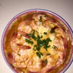 杰米3342820653鲜虾蒸蛋羹的做法