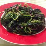 吃盼68蒜蓉苋菜的做法
