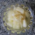 快乐健康4072银耳雪梨汤的做法