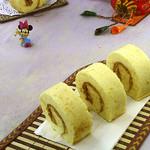 食·色肉松蛋糕卷的做法