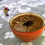 食·色红枣桂圆莲子粥的做法