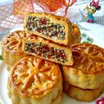 食·色五仁月饼的做法