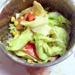 豆米sama酸奶芝士沙拉的做法